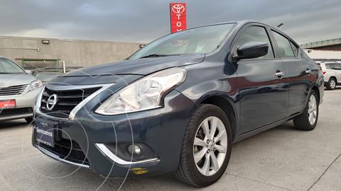Nissan Versa Exclusive NAVI Aut usado (2016) color Azul precio $189,000