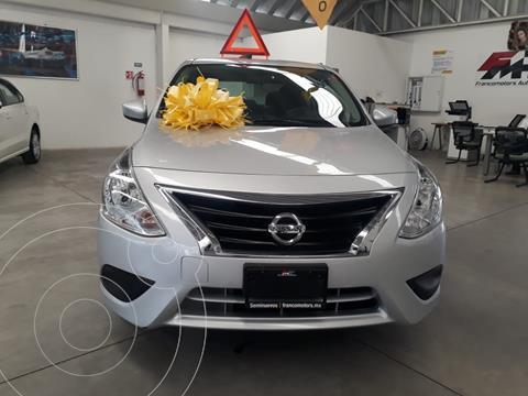 Nissan Versa Sense Aut usado (2019) color Plata precio $195,000