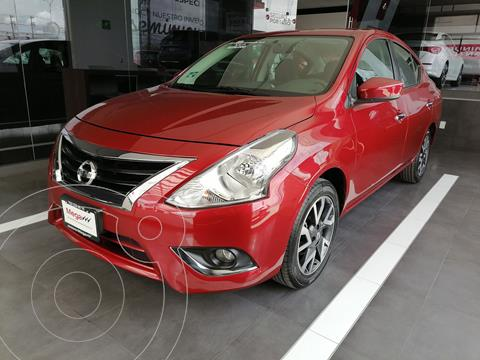 Nissan Versa Advance usado (2019) color Rojo precio $239,000