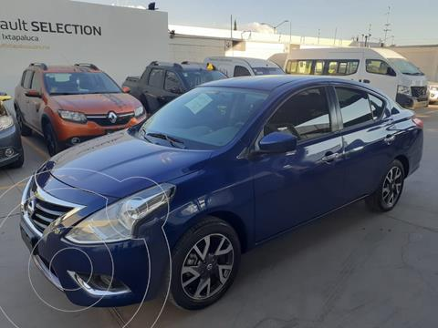 Nissan Versa Advance usado (2019) color Azul precio $209,994