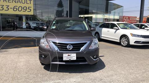 Nissan Versa Advance Aut usado (2019) color Gris Oscuro financiado en mensualidades(enganche $47,934 mensualidades desde $5,870)