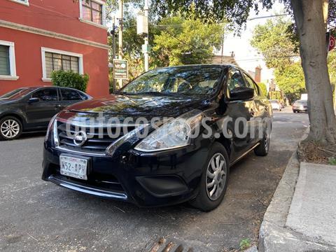 Nissan Versa Sense Aut usado (2018) color Negro precio $140,000