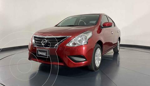 Nissan Versa Sense Aut usado (2018) color Rojo precio $184,999