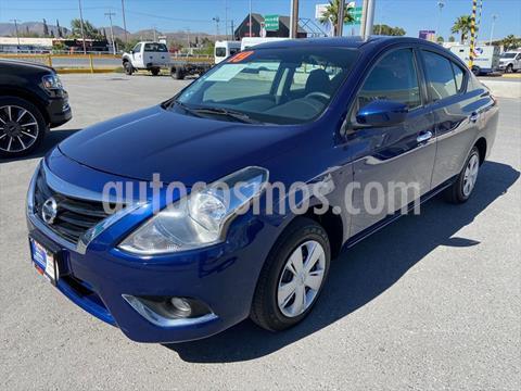Nissan Versa Sense usado (2019) color Azul Electrico precio $188,000