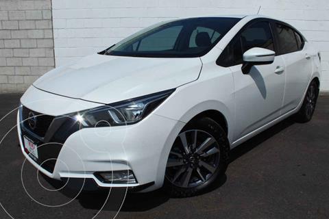 Nissan Versa Advance usado (2020) color Blanco precio $255,000