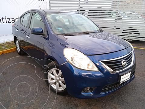 Nissan Versa Advance Aut usado (2012) color Azul precio $125,000