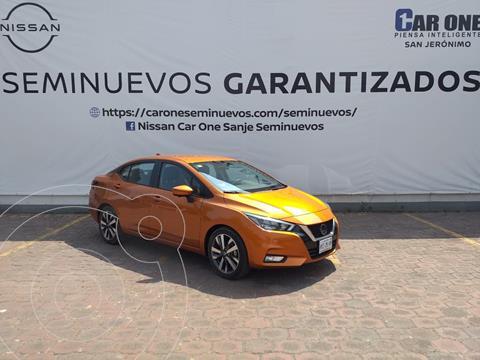 Nissan Versa Platinum Aut usado (2020) color Naranja precio $304,900