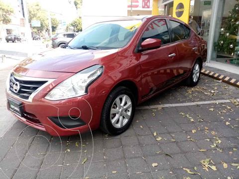 Nissan Versa Sense usado (2019) color Rojo precio $195,000