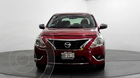 Nissan Versa Advance usado (2017) color Rojo precio $158,000