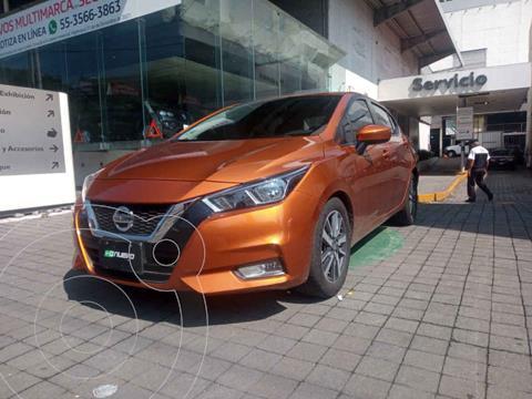 Nissan Versa Advance Aut usado (2020) color Naranja precio $285,000