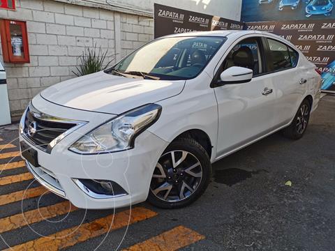Nissan Versa Exclusive Aut  usado (2016) color Blanco precio $172,000