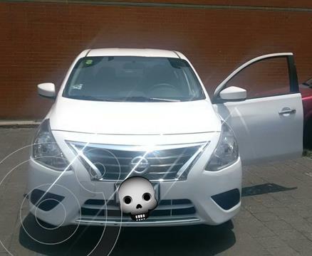 Nissan Versa Advance usado (2017) color Blanco precio $130,000