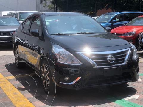 Nissan Versa Advance usado (2019) color Negro financiado en mensualidades(enganche $50,000 mensualidades desde $4,249)