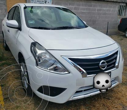 Nissan Versa Advance usado (2017) color Blanco precio $140,000