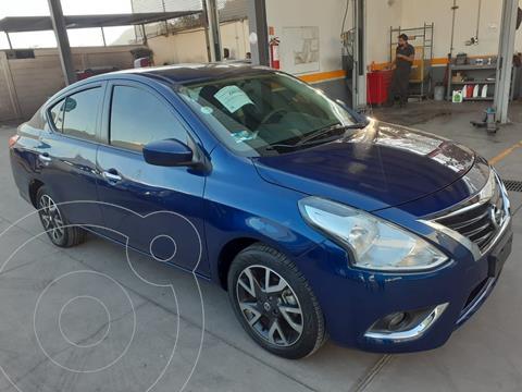 Nissan Versa Advance usado (2019) color Azul financiado en mensualidades(enganche $57,514 mensualidades desde $4,522)