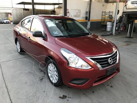 Nissan Versa Drive A/A usado (2018) color Rojo precio $170,000