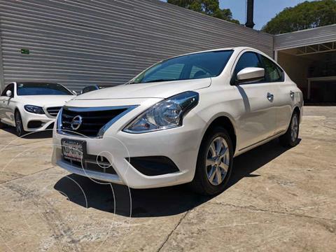 Nissan Versa Advance Aut usado (2019) color Blanco precio $200,000