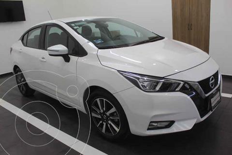 Nissan Versa Advance usado (2020) color Blanco precio $299,000