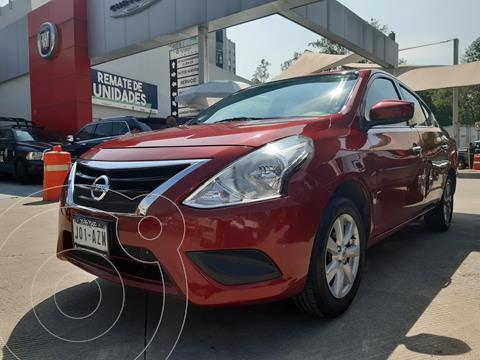 Nissan Versa Sense usado (2019) color Rojo financiado en mensualidades(enganche $43,719 mensualidades desde $4,290)