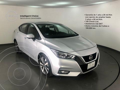 Nissan Versa Platinum Aut usado (2020) color Plata Dorado precio $320,000