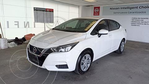 Nissan Versa Sense Aut usado (2020) color Blanco precio $250,000