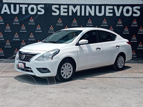 Nissan Versa Sense usado (2018) color Blanco precio $179,000
