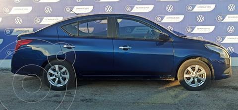 Nissan Versa SENSE MT usado (2019) color Azul precio $215,000