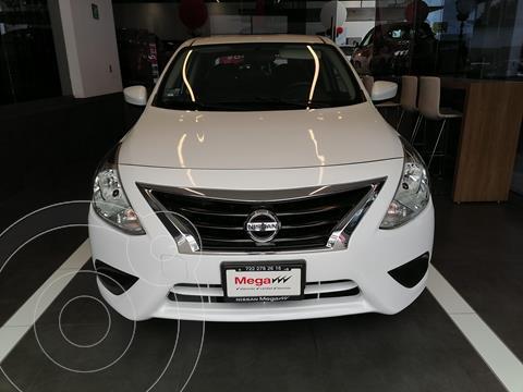 Nissan Versa Sense usado (2019) color Blanco precio $219,000