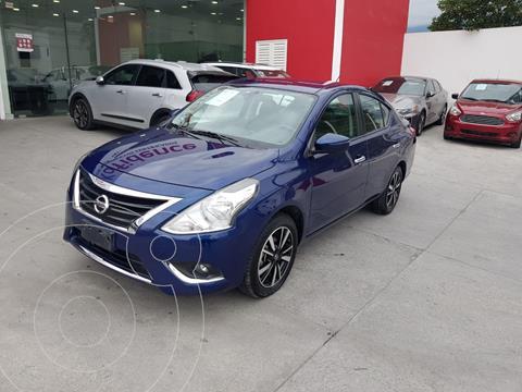 Nissan Versa Exclusive Aut usado (2019) color Azul precio $255,000