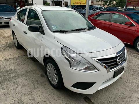 Nissan Versa Advance Aut usado (2020) color Blanco precio $209,900