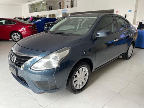 Nissan Versa Sense usado (2017) color Azul precio $154,900