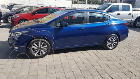 Nissan Versa Advance usado (2020) color Azul precio $265,500