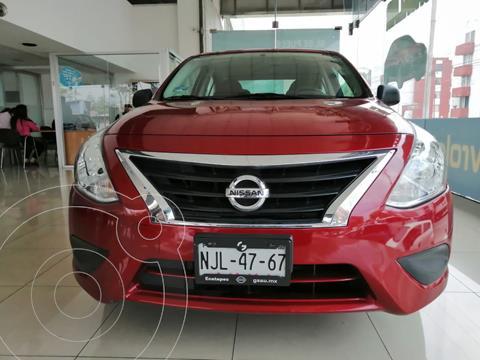 Nissan Versa Drive Aut usado (2019) color Rojo precio $179,900