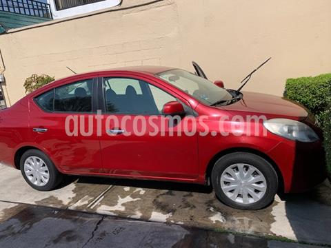 Nissan Versa Sense Aut  usado (2013) color Rojo precio $95,000