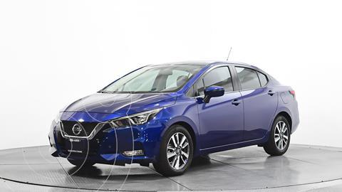 Nissan Versa Advance usado (2020) color Azul precio $275,600