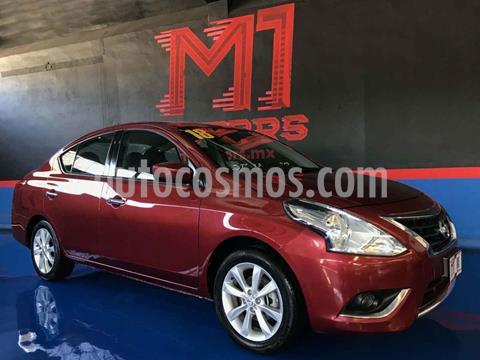 Nissan Versa Advance usado (2018) color Rojo precio $173,000