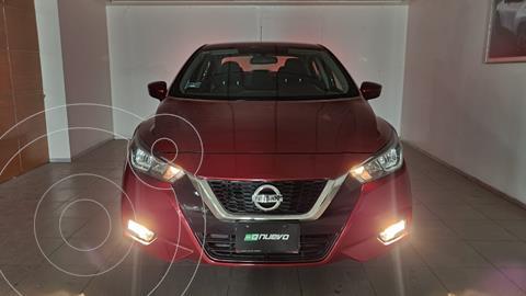 Nissan Versa Advance usado (2020) color Rojo precio $255,000