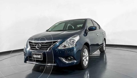 Nissan Versa Advance usado (2017) color Azul precio $154,999