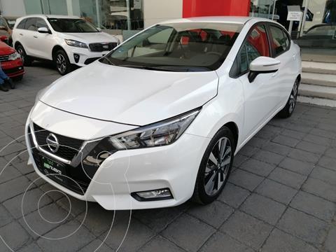 Nissan Versa Exclusive Aut usado (2020) color Blanco precio $296,000
