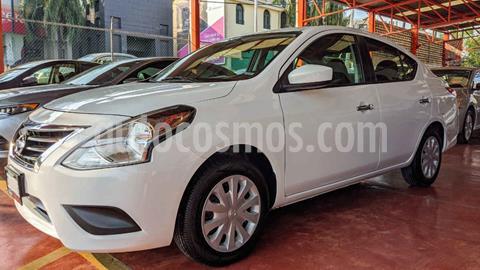 Nissan Versa Sense Aut usado (2018) color Blanco precio $160,000