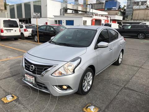 Nissan Versa Advance usado (2018) color Plata financiado en mensualidades(enganche $50,000 mensualidades desde $4,500)