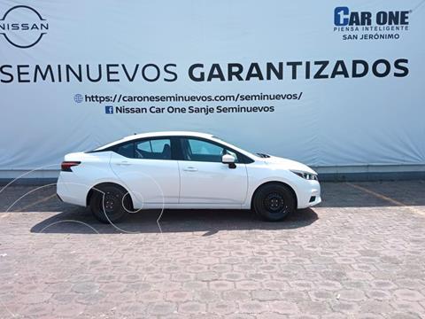 Nissan Versa Sense Aut usado (2020) color Blanco precio $244,900