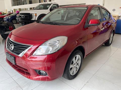 Nissan Versa Advance usado (2012) color Rojo precio $110,000