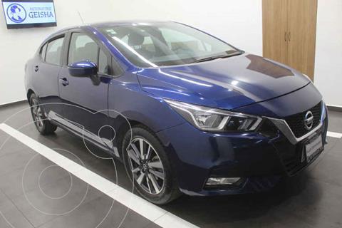 Nissan Versa Advance Aut usado (2020) color Azul precio $299,000
