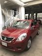 Nissan Versa Sense Aut   usado (2014) color Rojo precio $120,000
