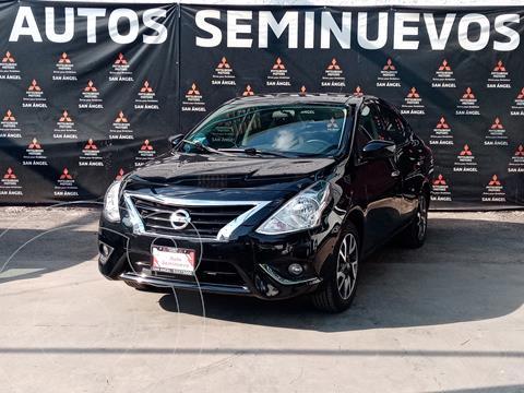 Nissan Versa Advance usado (2019) color Negro precio $209,000