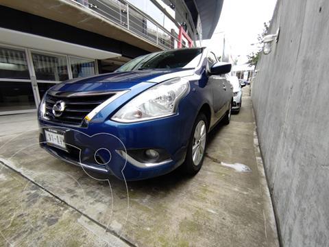 Nissan Versa ADVANCE L4 1.6L MT usado (2018) color Azul precio $189,000