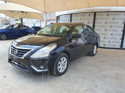Nissan Versa Sense usado (2019) color Negro precio $189,000