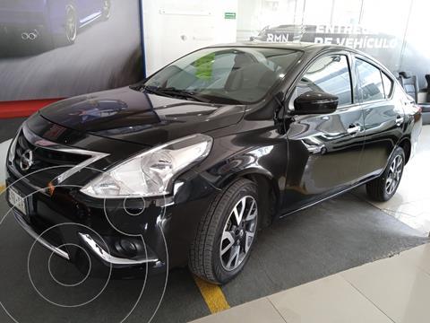 Nissan Versa Exclusive NAVI Aut usado (2018) color Negro precio $204,900