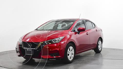 Nissan Versa Sense Aut usado (2020) color Rojo precio $252,400